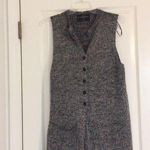 Long knit cardigan!
